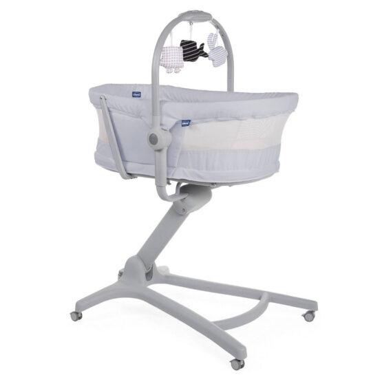 Кроватка-стульчик Baby Hug Air 4-в-1 Stone