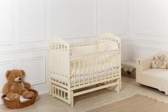 Кроватка детская Incanto Pali, универсальный маятник, слоновая кость