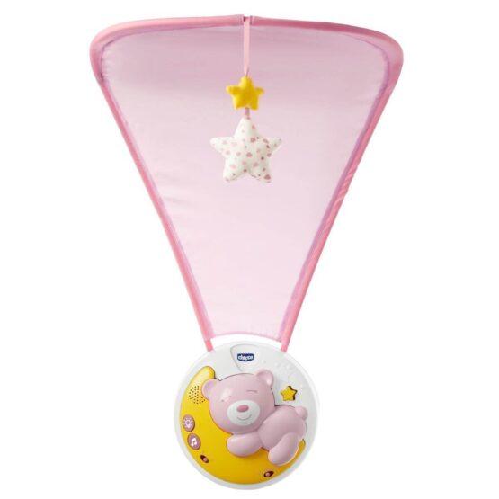 Мобиле Next2Moon розовый